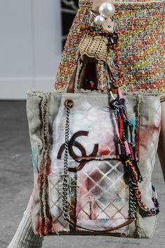 alexander-wanker:  I have a bag that looks exactly like this without the graffitti… Chanel SS14
