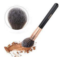 DUcare Makeup Brushes Professional Face Foundation Contour Powder Fan Essential Make up Tools - Makeup Natural Affordable Makeup Brushes, Best Makeup Brushes, Makeup Tools, Best Makeup Products, Beauty Products, Lush Products, Body Makeup, Beauty Makeup, Diy Makeup Brush