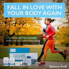 No hiding under bulky coats and sweat pants! It's time to fall in love with your body again and the TLS 21 Day Challenge can help.