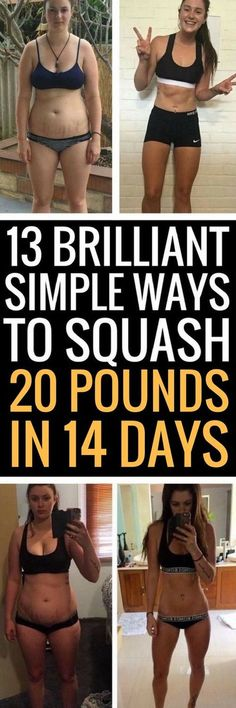 13 small sacrifices to lose 20 pounds in 2 weeks.