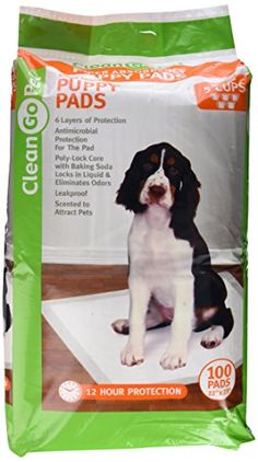 Clean Go Pet Super Absorb Puppy Pads,Anti-Microbial, Hold 5 Cups, Scented to Attract Puppies >>> Learn more by visiting the image link. (This is an affiliate link and I receive a commission for the sales) Probiotics For Dogs, House Breaking Dogs, Dog Training Pads, Training Tips, Indestructable Dog Bed, Wireless Dog Fence, Dog Shock Collar, Puppy Pads, Dogs For Sale