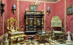 miniature china room