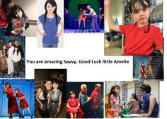 Amelie is closing on broadway so i decided to make some tributes to their wonderful cast. Savvy, you are wonderful at what you do and we all love you. Never stop smiling and singing