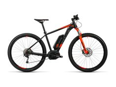 Cube Reaction Hybrid HPA Pro 400 29 2016, black´n´flashred - E-Bike