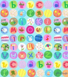 Alphabet Print by Jill McDonald Design