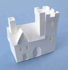 Glitter Houses: Tiny Tudor Village 2014 Instructions