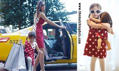 UNMATCHED MATCHING FASHION! Be spotted! The Matching Dots. Dotted kid's fashion. Gift ideas for moms and little girls. Matching friends and sisters. Made in USA. #dress #cool #girls