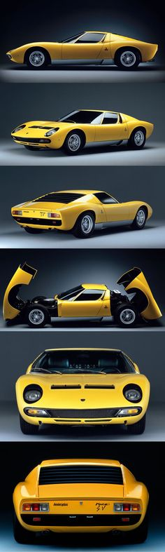1971 Lamborghini Miura LP400 SV / 380hp V12 / Italy / yellow - https://www.luxury.guugles.com/1971-lamborghini-miura-lp400-sv-380hp-v12-italy-yellow/