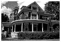 Old Rectory - Jacksonville, IL Jacksonville Illinois, Old Postcards, Mansions, History, House Styles, Places, Historia, Manor Houses, Villas