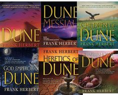 Dune series  by Frank Herbert et al - Google Search - be sure to read all of the prequels too as they help reader to understand the major themes