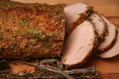 herb roasted pork loin recipe