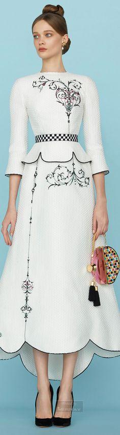 Ulyana Sergeenko.Spring 2015 Couture.