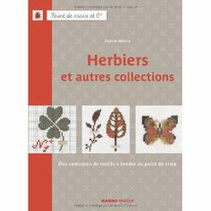 DMC 「Herbiers et autres collections」 クロスステッチ図案集-フランス語