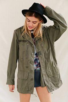 Urban Renewal Vintage French Surplus Jacket