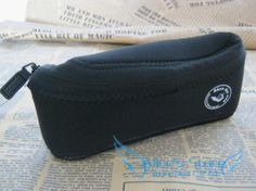 Free shipping  Black waterproof cloth Single Pipe Case & Tobacco Pouch Smoking Accessories