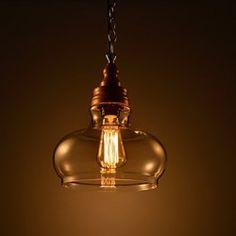 Stile loft industriale IKEA retrš° piccolo lampadario nero moderno ...