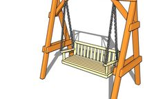 Cum construiesti un leagan de gradina - un ghid simplu, pe pasi - Case practice