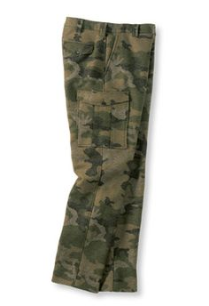 Maine Guide Six-Pocket Wool Pants with Windstopper, Camo: Pants and Coveralls | Free Shipping at L.L.Bean