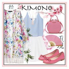 """Kimono ○ Sakura"" by fabulousbyangelika ❤ liked on Polyvore featuring RED Valentino, Kate Spade, Pier 1 Imports, MANGO, Chicnova Fashion, Oasis, Cultural Intrigue, polyvoreeditorial and kimonos"