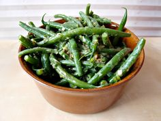 Milk and Honey: Warm French Bean Salad. SO VERY YUMMY!!! french beans frenched beans