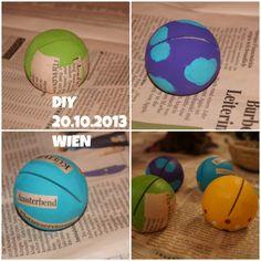 "DIY 20.10.2013 WIEN ""Bilderrahmen"" selbst gemacht, KLEISTER und FARBE Planer, Diy, Picture Frames, Homemade, Projects, Crafting, Colour, Bricolage, Do It Yourself"