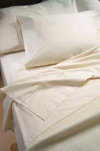 Fresh, clean sheets.