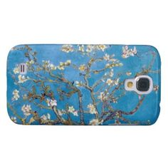 Branches with Almond Blossom Van Gogh painting Case-Mate Barely There Samsung Galaxy S4 Case #branches #almond #blossom #vangogh #painting #samsung #galaxy #s4 #case #postimpressionism #cover #gift #smartphone #cover