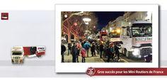Gros succès pour les Mini Routiers de France Le Puy en Velay, ville ouverte aux camions sur Truckeditions
