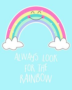 Rainbow Art Nursery Art Rainbow Baby Pastel by KiwiInTheClouds Bright Nursery, Pastel Nursery, Nursery Prints, Nursery Art, Eclectic Nursery Decor, Ciel Art, Girl Scout Silver Award, Ciel Pastel, Unicorn Quotes