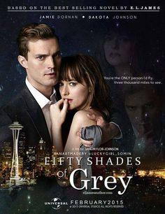 official movie poster 50 shades of grey!