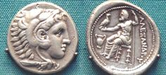 GREEK COIN (ALEXANDER THE GREAT)