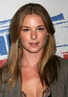 Emily VanCamp from Revenge, apparently people think I'm her twin!  Haha!