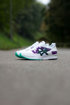 Asics Gel Lyte V OG | White, Purple & Green