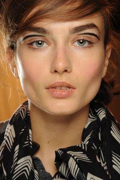 Rag & Bone Fall 2013. http://votetrends.com/polls/369/share #makeup #fashion #beauty