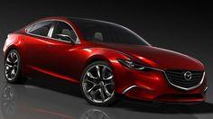Mazda introduced a concept car that foreshadows their next mid-size sedan at the Tokyo Motor Show. Mazda 3 Hatchback, Mazda 6 Coupe, Mazda Cx5, Mazda6, Rx7, Tokyo Motor Show, Car Prices, Auto News, Automotive News