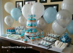 Baby Shower Ideas   Love The Colors And Setup