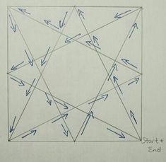 Star free quilting