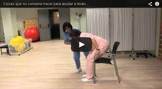 PROGRAMA DE REFUERZO EN FISIOTERAPIA Serie de ejercicios funcionales para corregir y controlar la postura en sentado y de pie, levantarse y…
