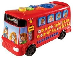 Vtech Red Playtime Bus: Amazon.co.uk: Baby