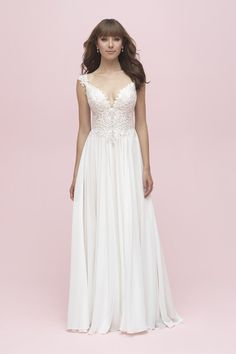 55819461227 3216 A-line Wedding Dress by Allure Romance - WeddingWire.com
