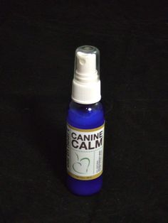 Canine Calm! Herbal Mist for dogs suffering separation anxiety, fear of thunder, travel, grooming...