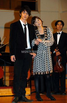With the Nodame Orchestra.