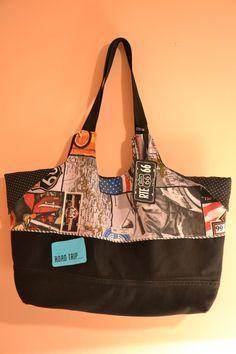 CheRRy's World: Tasche BIG SUMMER - tolle große Strandtasche :)