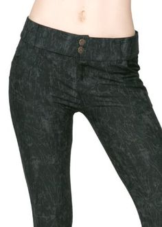 Rose Embossed Lady's Fashion Jegging Yelete. $19.99