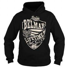 Awesome Tee Last Name, Surname Tshirts - Team BELMAR Lifetime Member Eagle T shirts