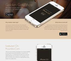 Goldengate Free #Responsive #HTML5 #CSS3 #Mobileweb Template