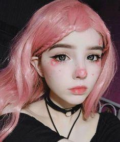 Makeup Inspo, Makeup Inspiration, Beauty Makeup, Hair Makeup, Anime Makeup, Kawaii Makeup, Cute Makeup Looks, Pretty Makeup, Aesthetic Makeup