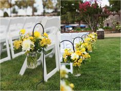 Country Chic Wedding by Kimberly Carlson Photography via www.lemagnifiqueblog.com
