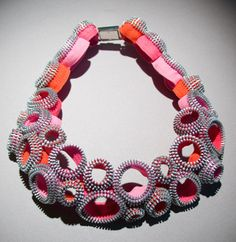 zipper necklace  / Kate Kusack