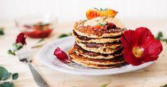 Vegan Cinnamon Roll Pancake Recipe - mindbodygreen